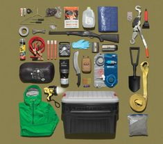 The Truck Chest A four-seasons truck survival kit should do it all: help you shelter in pla... #survivalbags