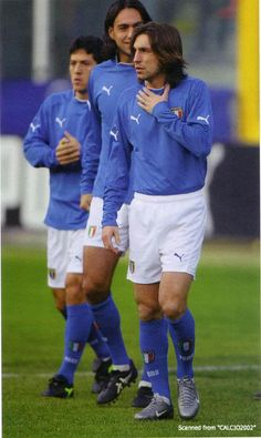 Nesta, Pirlo and camoranesi Football Is Life, Retro Football, Football Soccer, Andrea Pirlo, Turin, Alessandro Nesta, Juventus Fc, Ac Milan, Best Player