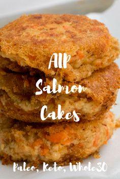 Salmon Cakes (AIP, Paleo, Keto, Whole30)— AIP Nutrition