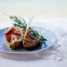 Grilled Lamb Chops with Ladolemono | Food & Wine