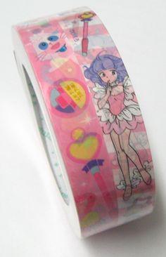 Deco tape Pattern: Cartoon girl