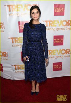 Paul Wesley & Phoebe Tonkin Make It a Date Night at TrevorLIVE LA!