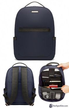 Archer Brighton Jake Utility laptop backpack for men - We list the best men's backpacks for work. Come see which other business backpacks made the list! Mens Backpack Work, Best Laptop Backpack, Backpack Outfit, Backpack Bags, Leather Backpack, Fashion Backpack, Leather Briefcase, Duffle Bags, Laptop Bags