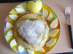 Rebanada de Sandía: Hotcakes sin huevo y con jogurt