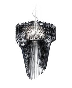 zaha hadid: avia & aria lamp for slamp