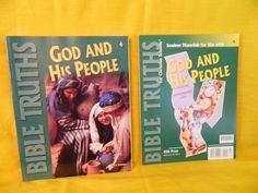 Bob Jones Bible Truths 4 God and His People Workbook & Student Materials, New #WorkbookStudyGuide