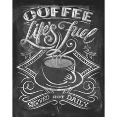 Chalkboard art for licensed products featuring coffee quotes. Coffee Chalkboard, Blackboard Art, Kitchen Chalkboard, Chalkboard Lettering, Chalkboard Designs, Chalkboard Quotes, Chalkboard Pictures, Chalkboard Ideas, Coffee Doodle