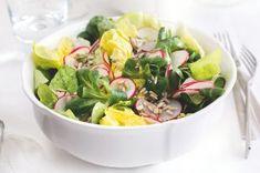 Nebe v hubě | Apetitonline.cz Spring Recipes, Cobb Salad, Potato Salad, Potatoes, Ethnic Recipes, Potato