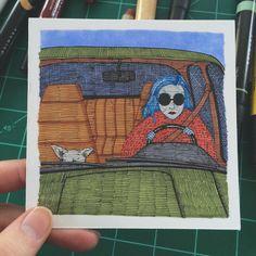 Mme Pastel: Sally Nixon. Artists on tumblr