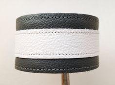 Mens leather cuff bracelet/ braclet cuff  by ChristyKeysCreations, $20.00