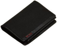 Tumi Alpha L-Fold ID 19250,Black,one size Gift boxed. Ballistic nylon with leather trim and interior.  #TUMI #Apparel