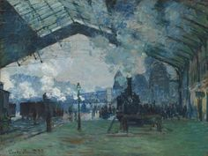 Claude Monet / Arrival of the Normandy Train