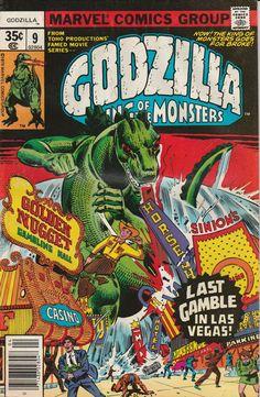Godzilla Vol. 1 No. 9  1978 by TheSamAntics on Etsy