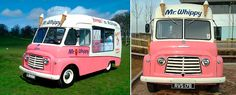 another vintage ice cream truck.....