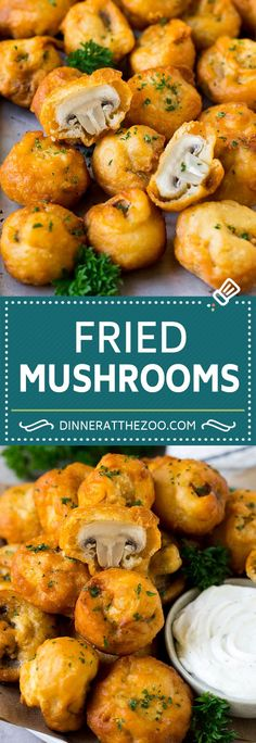 Fried Mushrooms - Fried Mushrooms Recipe Best Picture For snack recipes - Mushroom Recipes Indian, Fried Mushroom Recipes, Mushrooms Recipes, Stuffed Mushroom Recipes, Baby Bella Mushroom Recipes, Mushroom Meals, Mushroom Appetizers, Vegetable Recipes, Appetizer Recipes