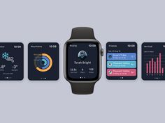 Apple Watch App for Ski Resort designed by Tarah. Connect with them on Dribbble; Website Design Layout, Website Design Inspiration, Interface Design, User Interface, Apple Watch Apps, Apple Home, Modern Website, Interactive Design, Ux Design