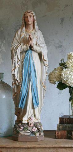 beautiful Mary statue
