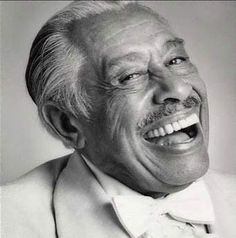 The legendary Cab Calloway, one of the all-time greats American jazz singers and bandleaders, most famous for his hit 'Minnie The Moocher' - which you've probably seen him perform in The Blues Brothers.