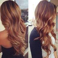brown balayage ombre hair trends 2015 with blonde highlights