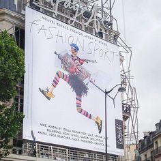 CARDO s'affiche sur la façade des @galerieslafayette !