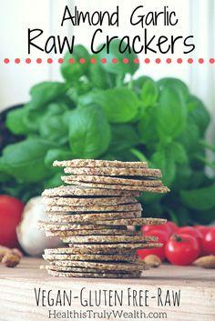 raw crackers recipe