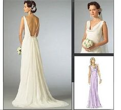 how to sew a wedding gown