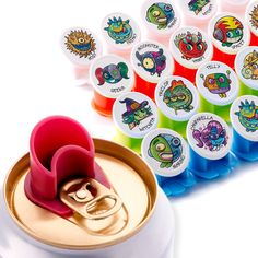 Canper Soda Can Lids, Multicoloured Pack Freaks), Reusable Soda Can Covers for Hygienic Drinking out of Beverage Cans Can Lids, Car Gadgets, Nespresso, Drinking, Canning, Tableware, Amazon Fr, Dune, Corks