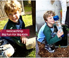What is geocaching? A fun hiding game for smart phone parents.