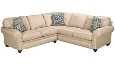 Broyhill - Sock Arm - 2 Piece Sectional - Jordan's Furniture