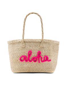 KAYU x REVOLVE Aloha Tote Bag in Hot Pink