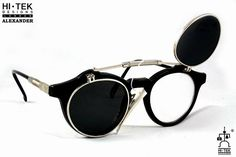 Hi Tek Alexander retro 1950s round frame black by AlexanderHiTek