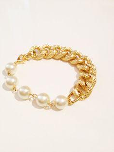 COCO bfrend bracciale oro Chunky catena con di doctorscloset