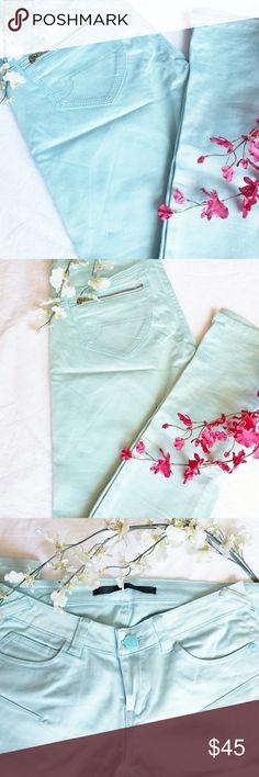 🆕️• Urban Behavior Dress Pants • Urban Behavior Baby Blue Sea Green Dress Pants Urban Behavior Pants