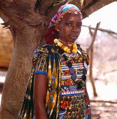 Nomadic Fulani. Photo Phyllis Galembo