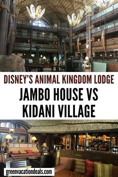 Animal Kingdom Lodge at Walt Disney World in Orlando, Florida has 2 sections: Jamba House & Kidani Village. Travel advice for how to choose which part of AKL your family should stay in. How to book the best possible vacation & get a good price Disney Disney World Rides, Disney World Hotels, Disney World Parks, Disney World Planning, Disney World Vacation, Disney World Resorts, Disney Vacations, Disney Trips, Walt Disney