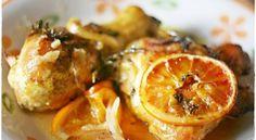 Sovracosce di pollo all'arancia