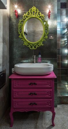 Casinha colorida: Usando cores na decoração: três apartamentos inteligentes
