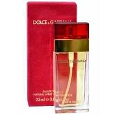 160128d2560aa DOLCE GABBANA RED 25ml EDT SP Red Perfume, Dolce And Gabbana Perfume,  Skincare,