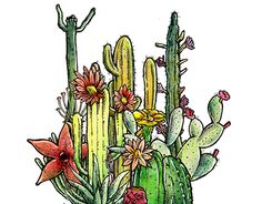 """Check out new work on my @Behance portfolio: """"Cactus Jack"""" http://be.net/gallery/32183229/Cactus-Jack"""