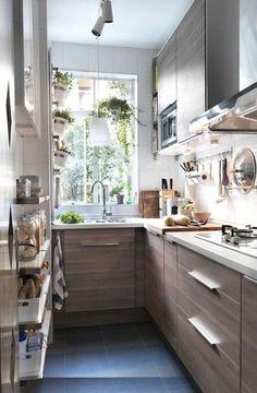 Tiny House Kitchen Decor Storage Ideas (53)