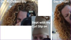 Made from light weight, breathable, soft slide stretch fabric in a class of its own, similar to silk, this non/ low absorbent curl slip will keep moisture in the hair, where it belongs while cocooning curls away for sleep. Better 2nd day curls for ladies who cannot get a tip top pony tail :-)