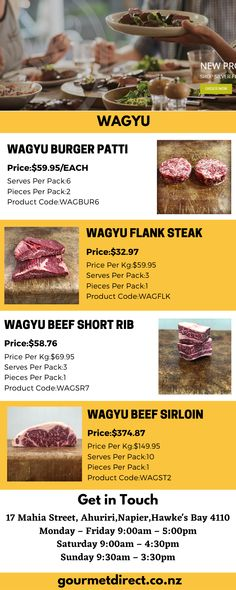 Buy products related to wagyu beef. Great-tasting Wagyu beef can be purchased directly from Gourmet direct. We provide sweet, buttery flavor wagyu beef. Call us at 0800737800. Cooking Tips, Cooking Recipes, Wagyu Beef, Best Meat, Beef Short Ribs, Flank Steak, Special Recipes, Gourmet
