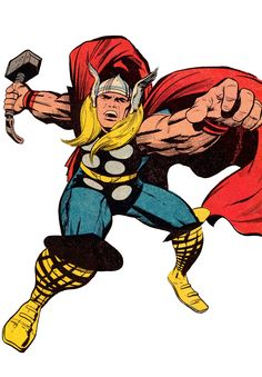 Thor by Jack Kirby and Vince Colletta