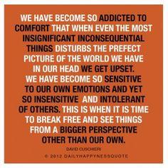 Bigger Perspective - David Cuschieri- Happyness Quote, life quotes