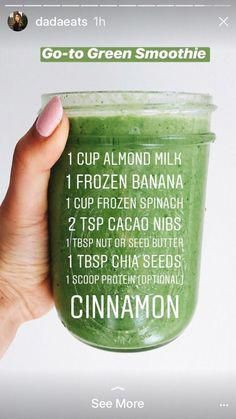 Green Smoothie #breakfastsmoothie