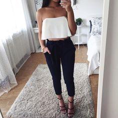 Ich liebe liebe liebe diese Hose! Pants & top: @ginasboutique.de
