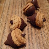 Chocolate Acorns - Candy Kiss Recipe - Refreshing The Home