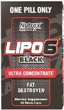 Nutrex Research Lipo 6 Black Ultra Concentrate Diet Supplement Capsules, 60 Count Coca Cola, Fat, Weight Loss, Count, Vitamins, Black, Deporte, Per Diem, Loosing Weight