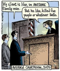 """Perhaps a Future Courtroom, but certainly how it is in some law classes. Unless the prof. hands out articles on how ignorant people sound when the preface with """"like""""."""