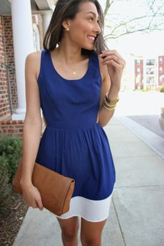 Blogger Wendy Carela looks totally adorable in this Charlotte Russe skater dress! See more on her blog - Wendy's Care To Wear. http://www.charlotterusse.com/thumbnail/Dresses/Skaters/pc/3021/2729.uts